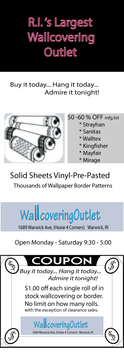 Wallcovering Outlet Coupon